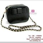กระเป๋าแฟชั่นพร้อมส่ง รหัส DB-8075 มี โบว์ประดับหน้ากระเป๋า สวยค่ะ