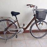 จักรยาน แม่บ้าน มือสองญี่ปุ่น สวยย พร้อมปั่นคะ เฟรมอลู วงล้อ 24 ไม่มีเกียร์คะ