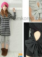 PK031 กางเกงคนท้องแฟชั่น กางเกงขาสามส่วนข้างๆ มีโบว์ติดทั้งสองข้าง ดูแล้วเก๋ไปอีกแบบค่ะ เนื้อผ้านิ่ม
