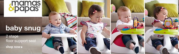 เก้าอี้หัดนั่ง ซื้อเก้าอี้หัดนั่ง mamas&papas ดีมากเลยคะ สนใจเก้าอี้หัดนั่งให้ลูกสาว เก้าอี้เด็กฝึกนั่ง (ทานข้าว ) เก้าอี้ หัด นั่ง Baby Snug พร้อม ถาด เก้าอี้ Baby Snug คือ เป็นเก้าอี้สำหรับหัดนั่ง ฝึกนั่ง ช่วยให้เด็กนั่งได้ไวขึ้น